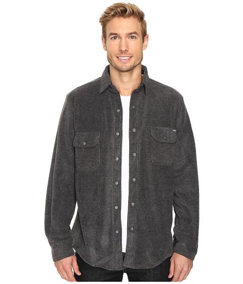 Woolrich Andes Fleece Shirt Jacket - Charcoal Heather