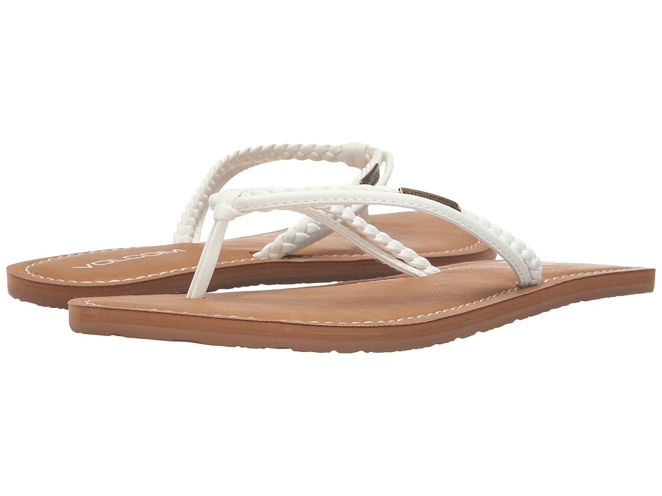 Volcom Tour Sandal (White) Sandals
