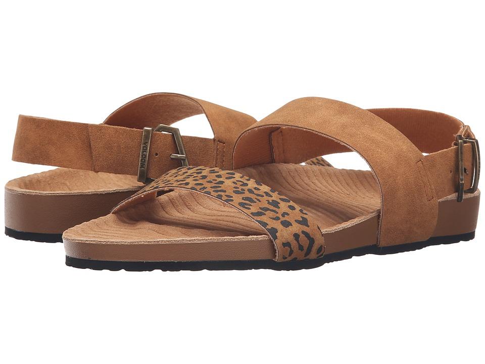 Volcom - Unwind Sandal (Cheetah) Women