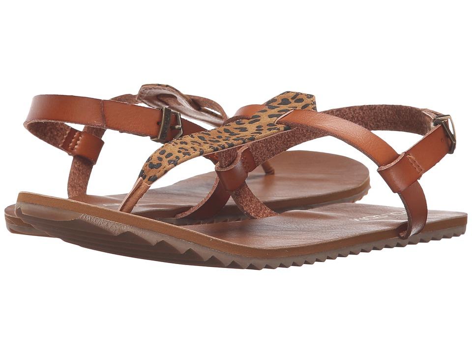 Volcom Maya Sandal (Cheetah) Women