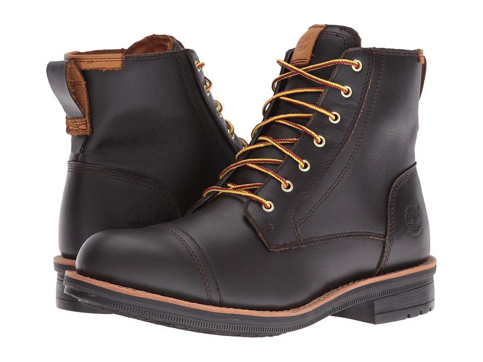 Timberland - Willoughby 6 Waterproof Boot (Dark Brown Full Grain) Men