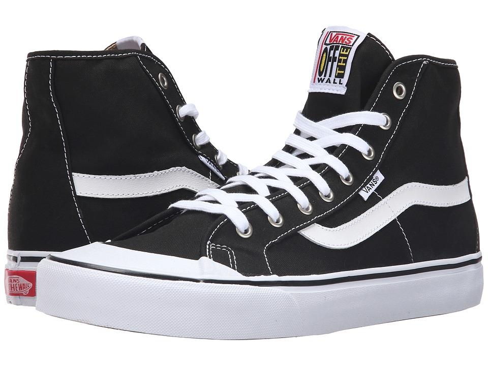 Vans Black Ball Hi SF (Black/True White) Men