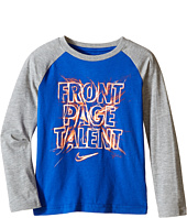 Nike Kids - Front Page Talent Long Sleeve Top (Little Kids)