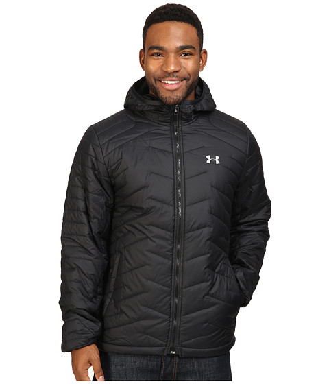 Under Armour UA ColdGear Hooded Jacket - Black/Steel