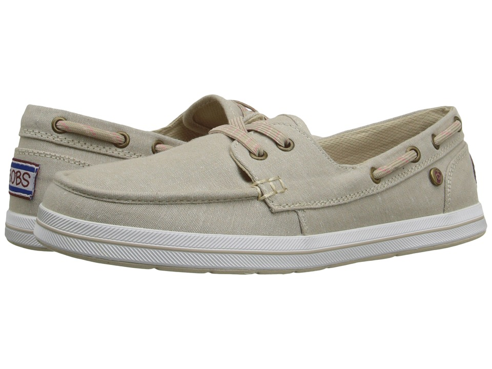 BOBS from SKECHERS Bobs Flexy Port Side Natural Womens Slip on Shoes