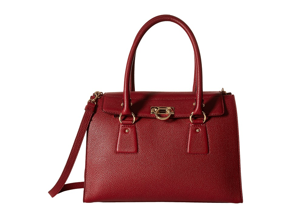 Salvatore Ferragamo - 21F293 Lotty (Opera) Satchel Handbags