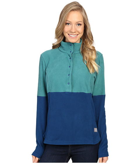 Toad&Co Liftie Fleece Pullover - Marine Green