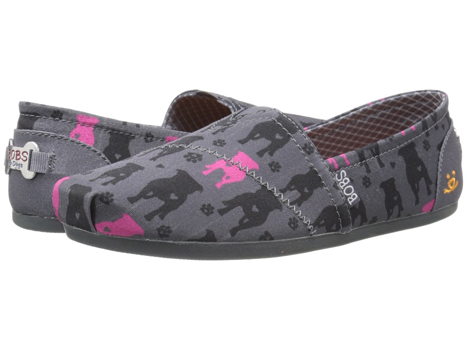 BOBS from SKECHERS Bobs Plush Gentle Giant (Charcoal) Women