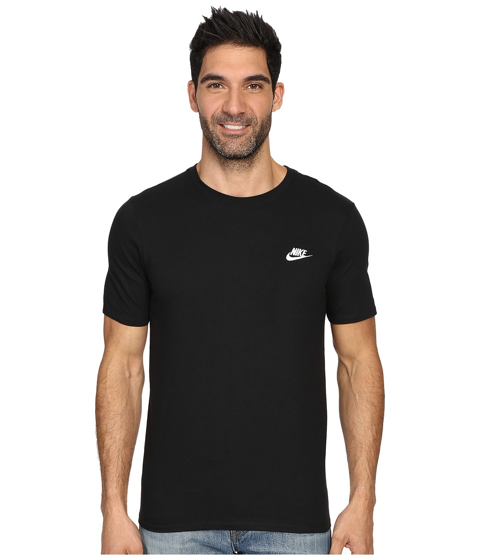 Nike Core Embroidered Futura Tee (Black/Black/White) Men