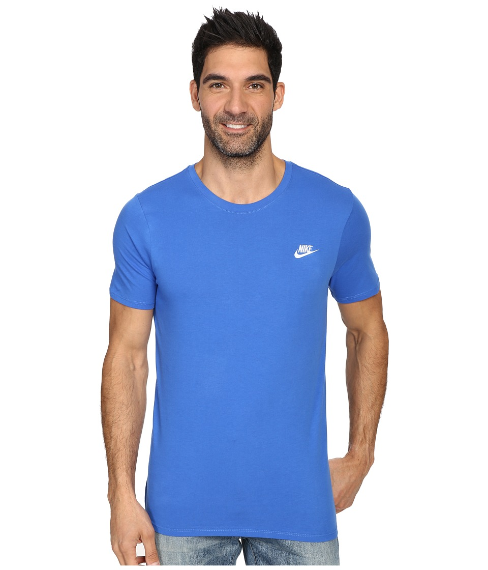 Nike Core Embroidered Futura Tee (Royal Blue/Royal Blue/White) Men