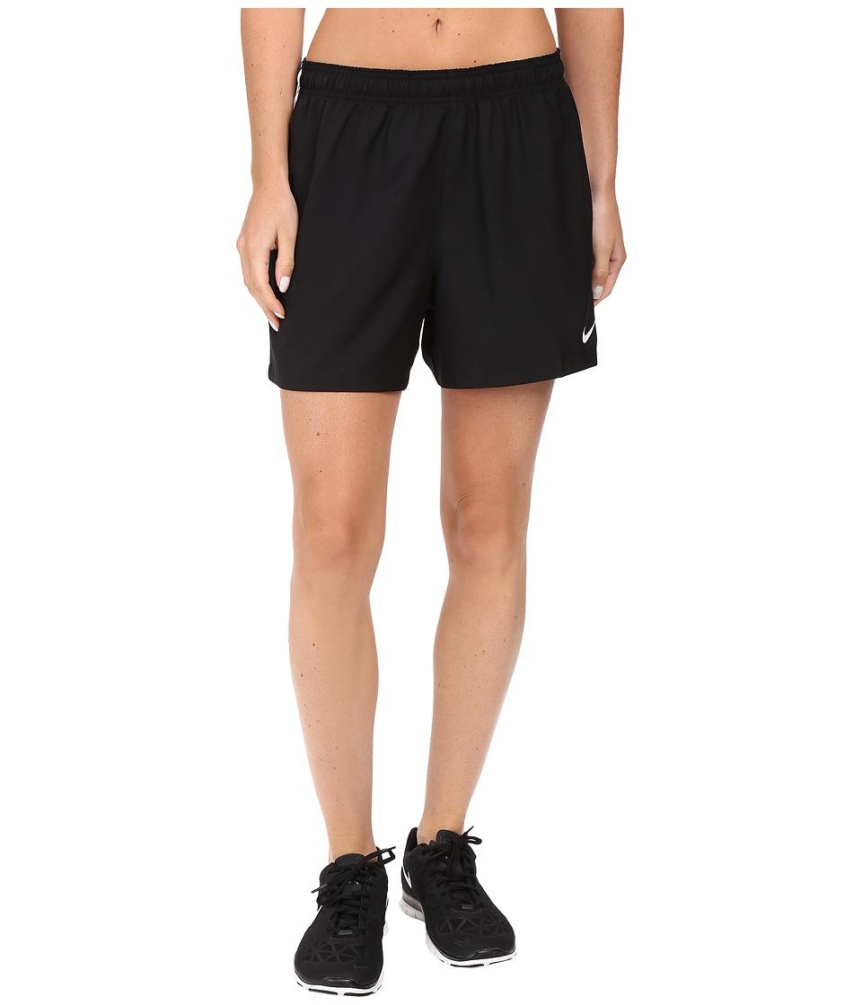 Nike Dry Soccer Short (Black/White/White) Women