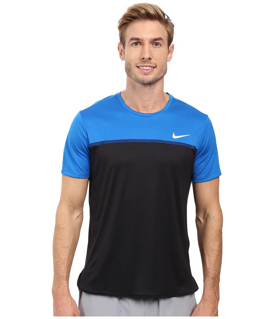 Nike Challenger Crew (Blue Spark/Black/Coastal Blue/White) Men