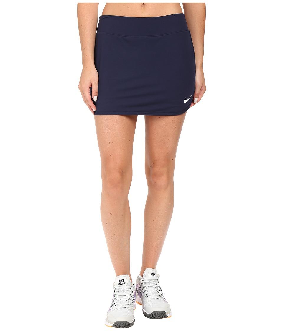 Nike Pure Skirt (Obsidian/Obsidian/White) Women