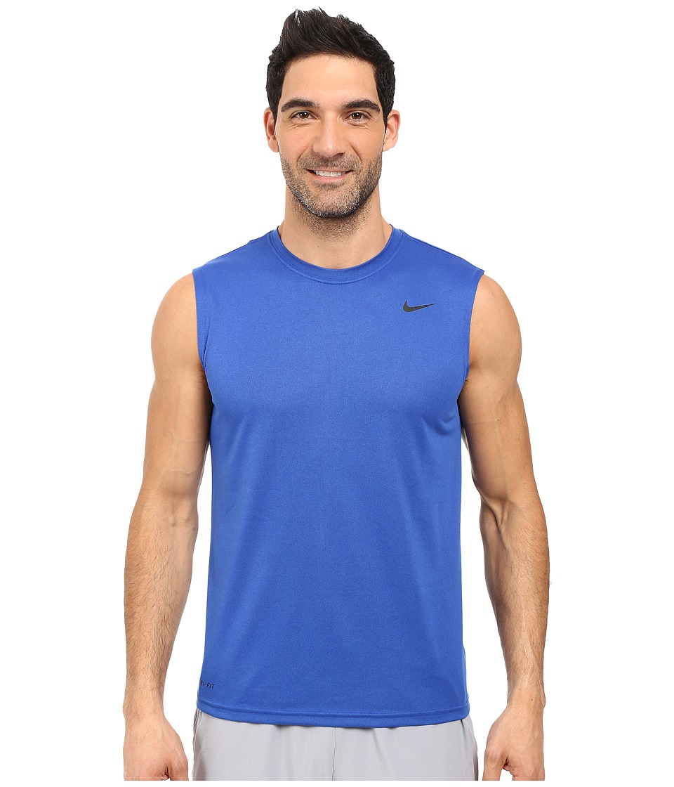 Nike Legend 2.0 Sleeveless Tee (Game Royal/Black/Black) Men