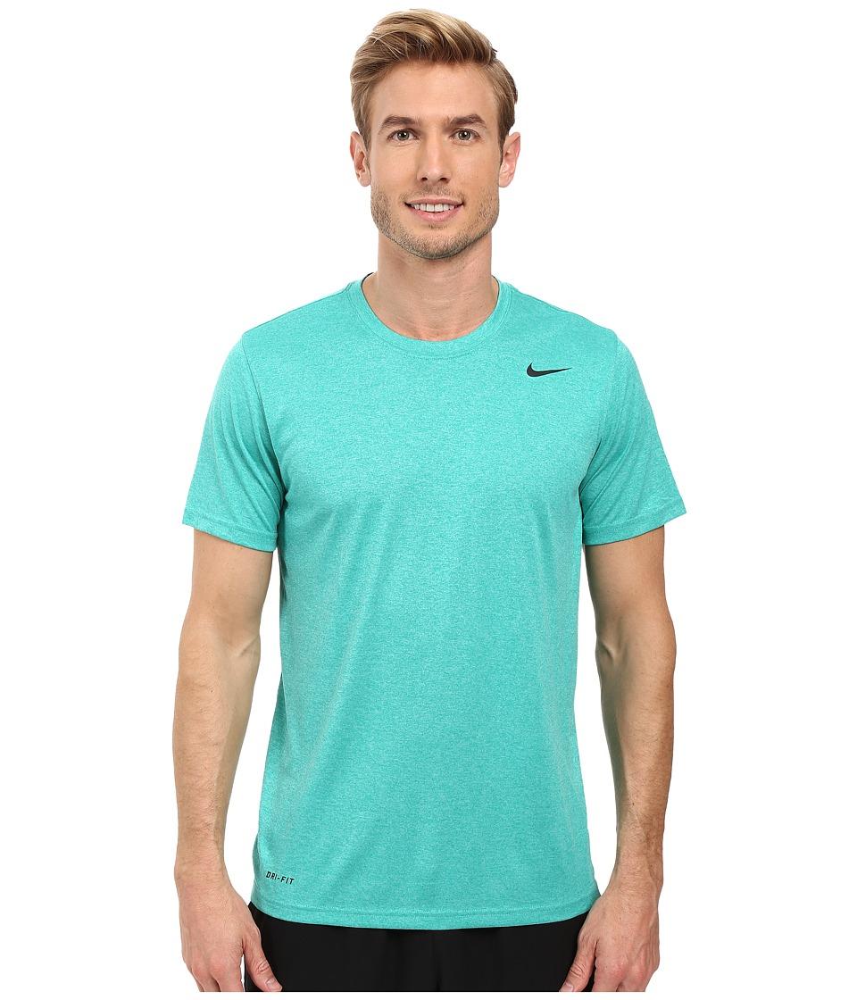 Nike - Legend 2.0 Short Sleeve Tee (Teal Charge/Washed Teal/Black/Black) Men