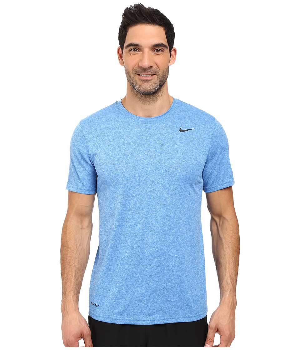 Nike - Legend 2.0 Short Sleeve Tee (Blue Spark/University Blue/Black/Black) Men