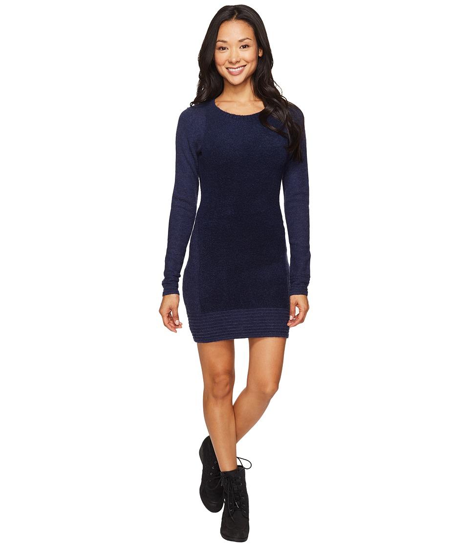 Toad&Co Kaya Sweater Dress (Deep Navy) Women