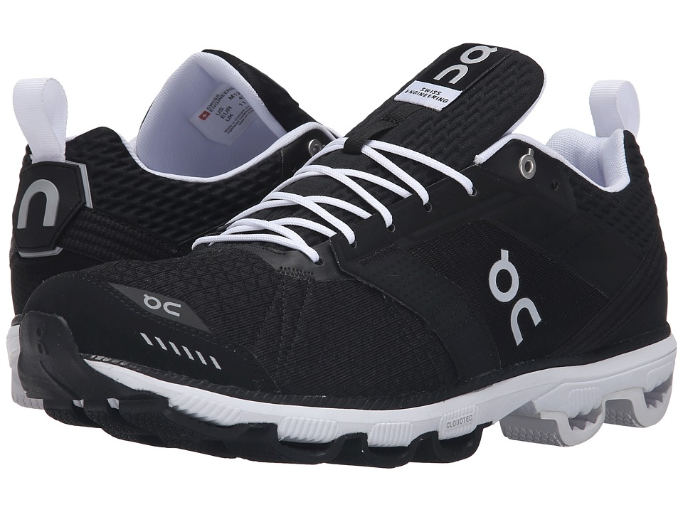 On - Cloudcruiser (Black/White) Mens Shoes