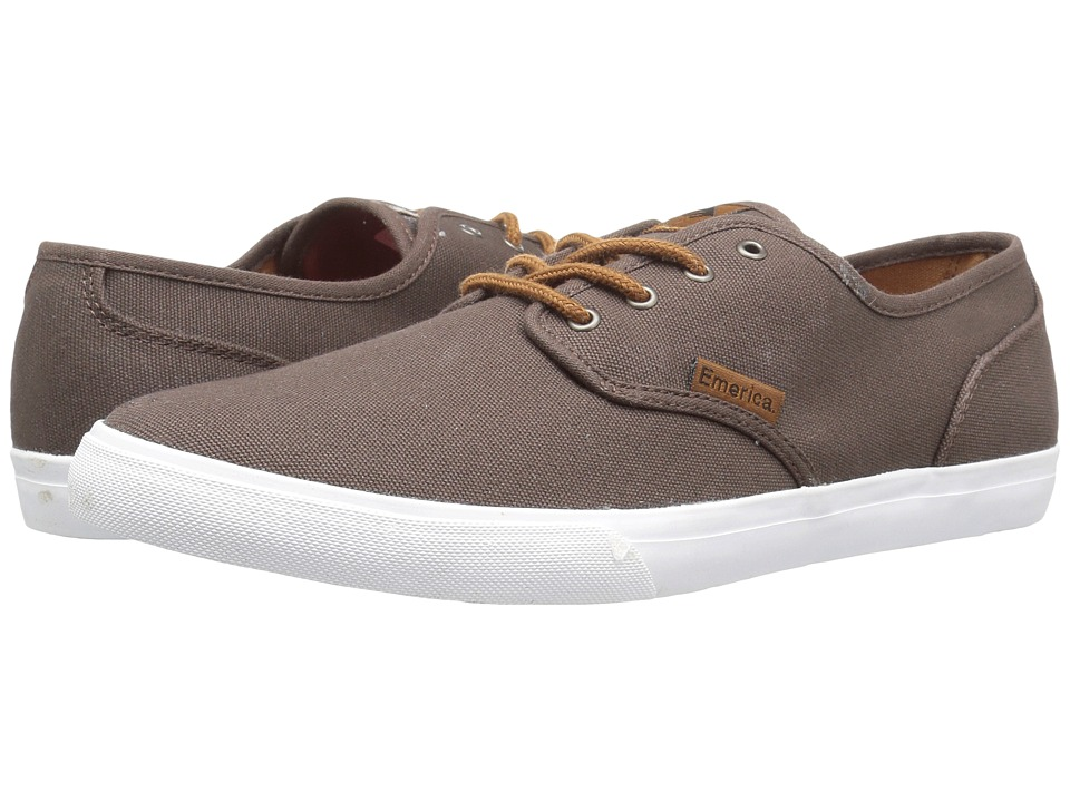 Emerica Wino Cruiser (Brown/White) Men