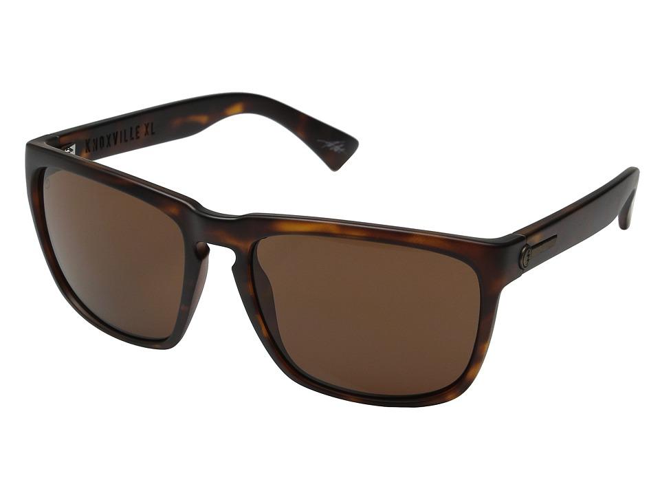 Electric Eyewear Knoxville XL Matte Tort/Melanin Bronze Sport Sunglasses