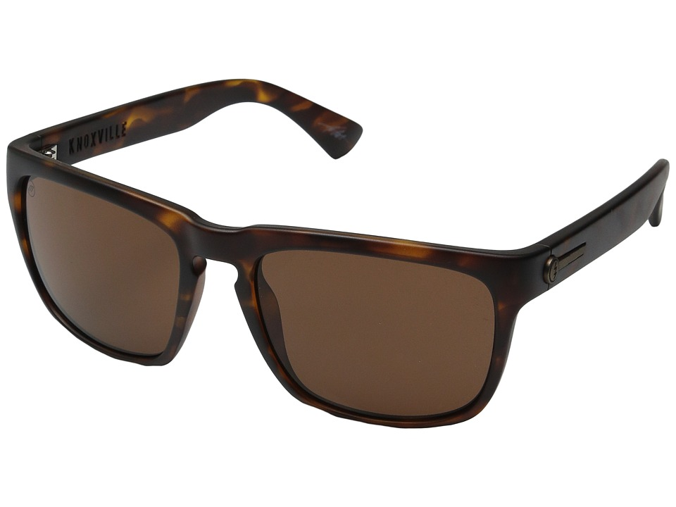 Electric Eyewear - Knoxville (Matte Tort/Melanin Bronze) Sport Sunglasses