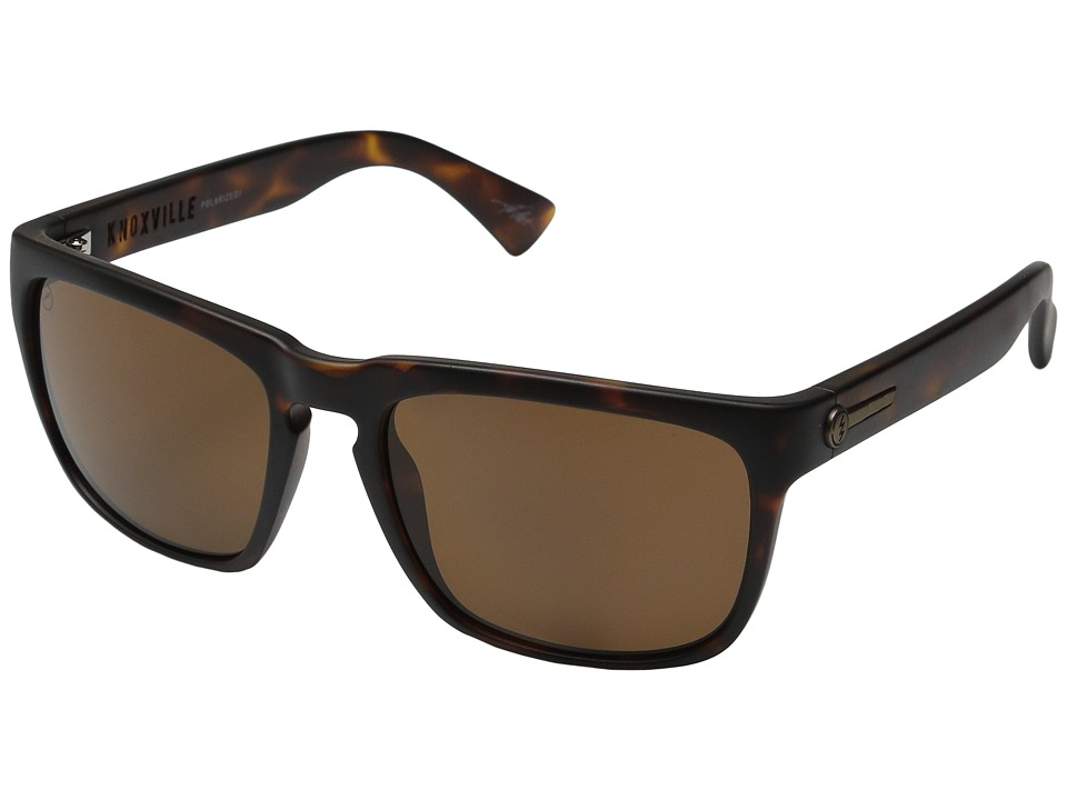 Electric Eyewear - Knoxville Polarized (Matte Tort/Melanin Level 1 Bronze Polar) Sport Sunglasses