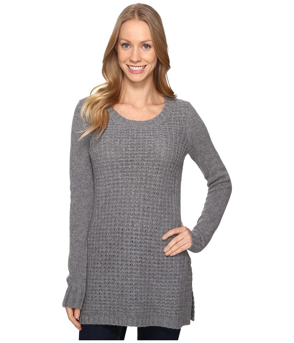 Toad&Co Kinley Sweater Tunic (Smoke Heather) Women