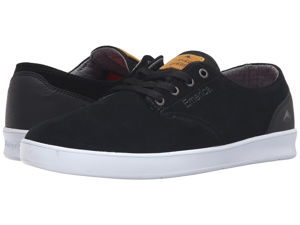 Emerica The Romero Laced (Black/Black/White) Men