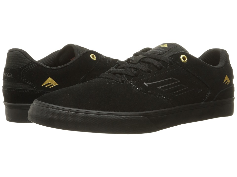 Emerica The Reynolds Low Vulc (Black/Gold) Men