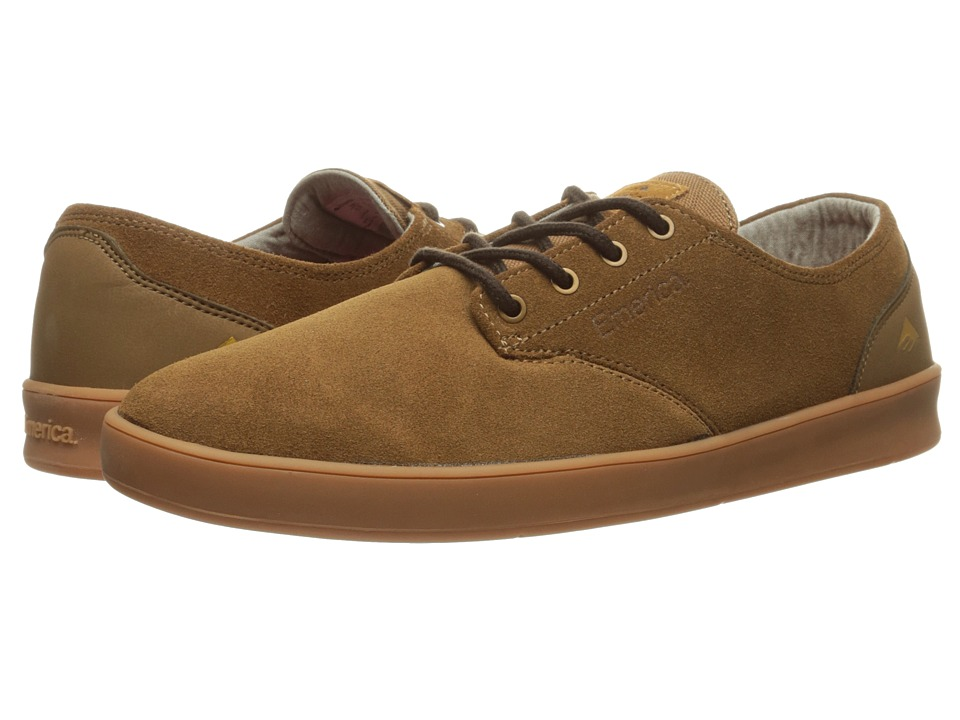 Emerica The Romero Laced (Brown/Gum/Brown) Men