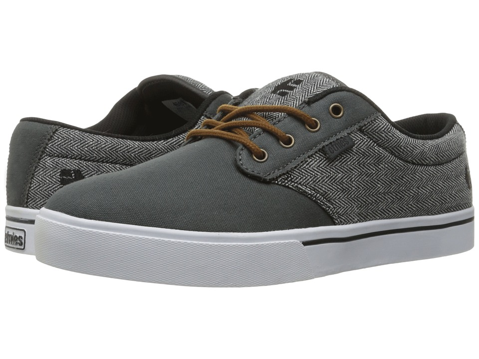 etnies - Jameson 2 Eco (Dark Grey/Black/White) Mens Skate Shoes