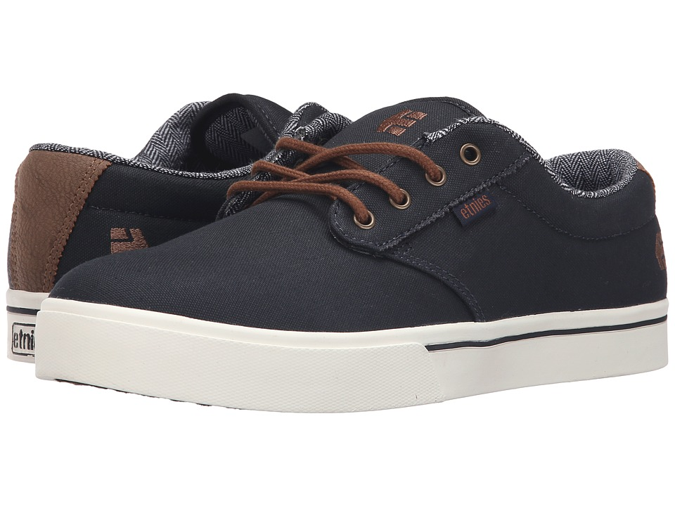 etnies Jameson 2 Eco NavyBrownWhite Mens Skate Shoes