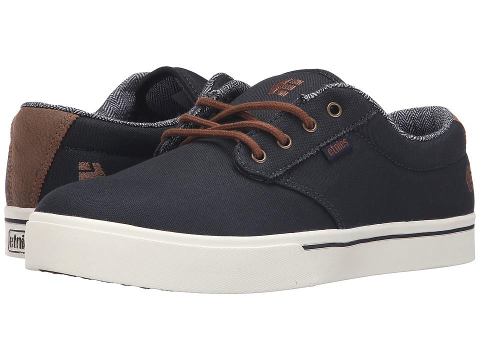 etnies Jameson 2 Eco (Navy/Brown/White) Men's Skate Shoes