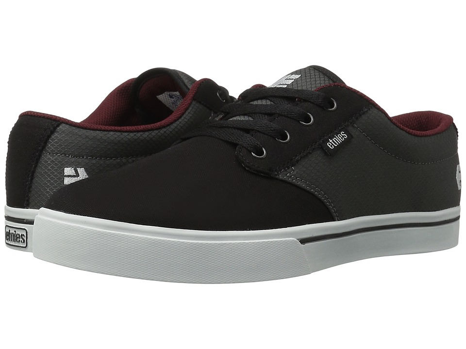 etnies - Jameson 2 Eco (Black/Grey/Red) Men