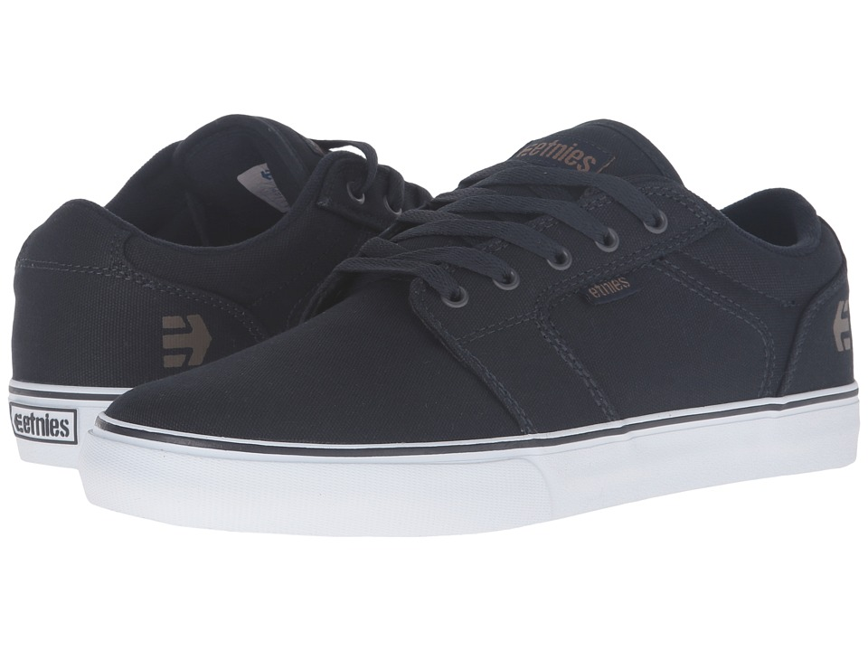 etnies - Barge LS (Navy/Gum/White) Men