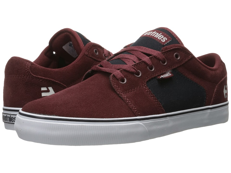 etnies - Barge LS (Red/Navy) Men