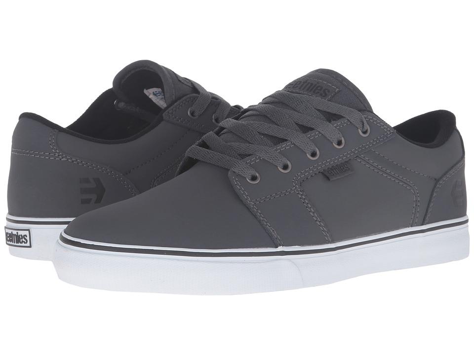 etnies - Barge LS (Grey/Black/White) Men