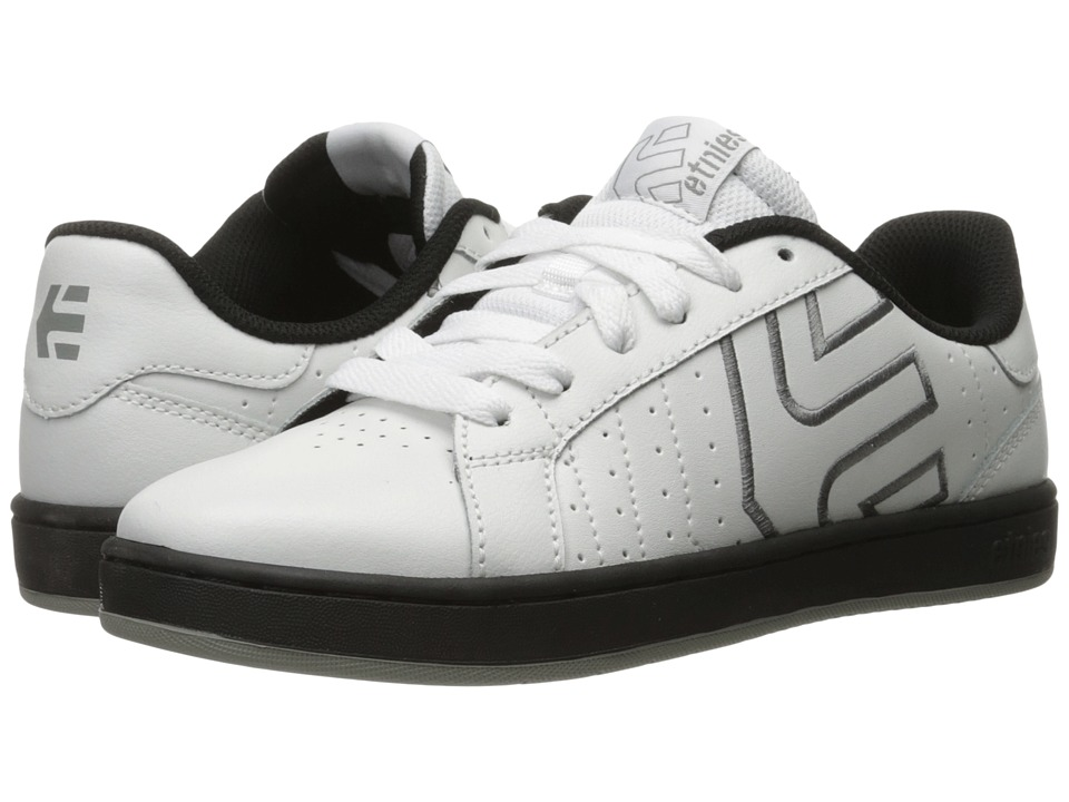 etnies - Fader LS (White/Black/Grey) Men
