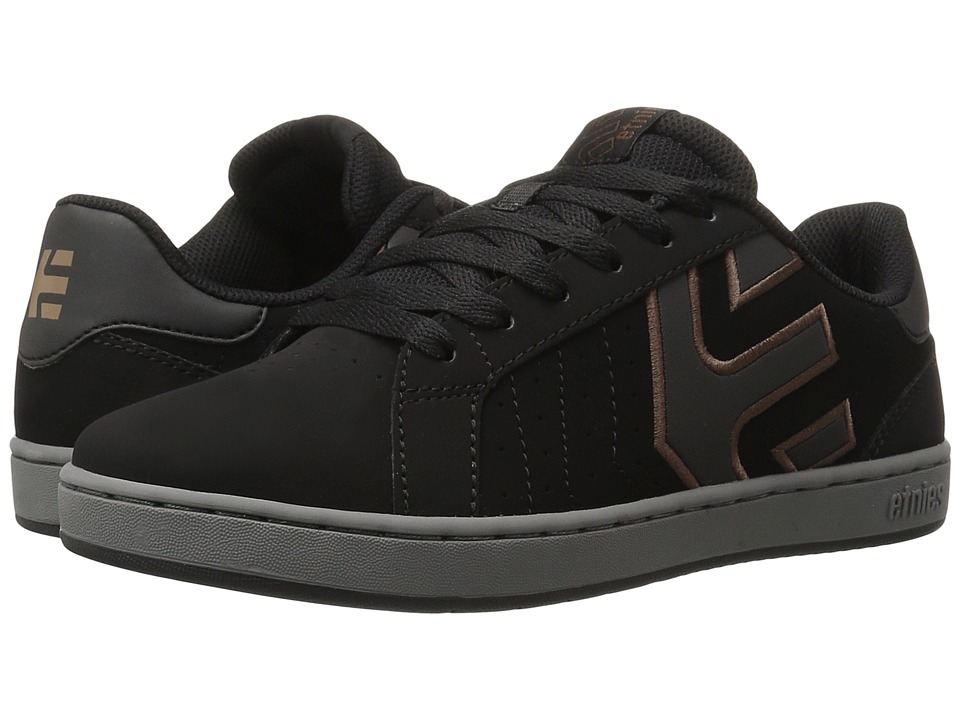 etnies Fader LS (Black/Grey/Black) Men