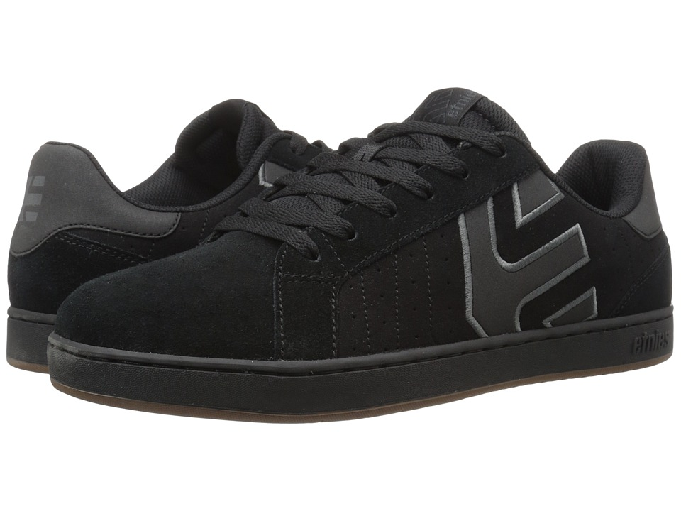 etnies Fader LS (Black/Charcoal/Gum) Men