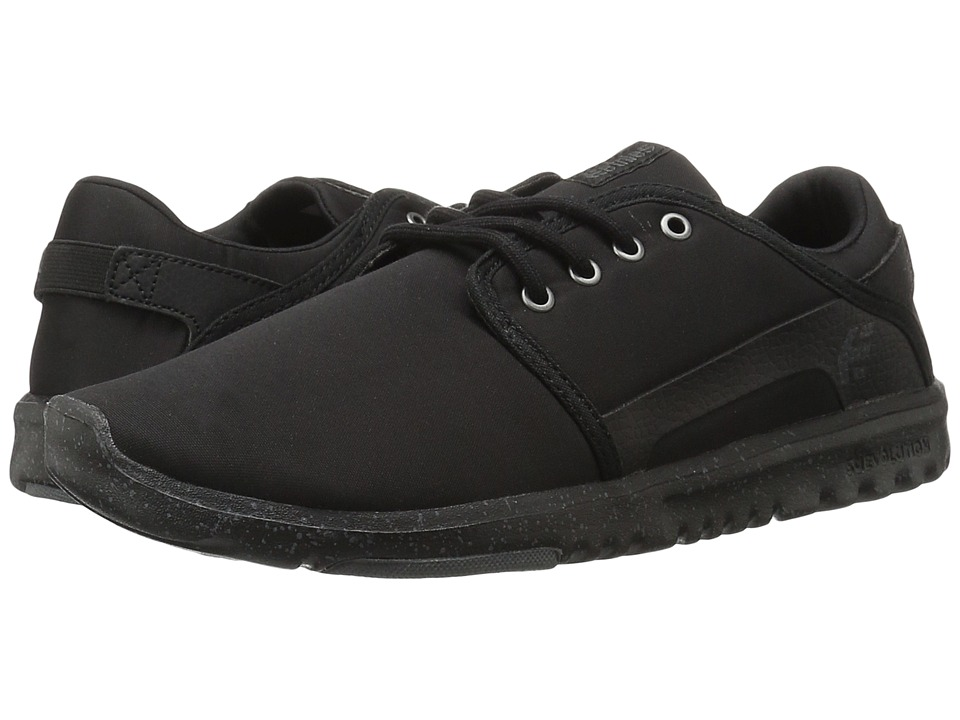 etnies - Scout (Black/Charcoal) Men