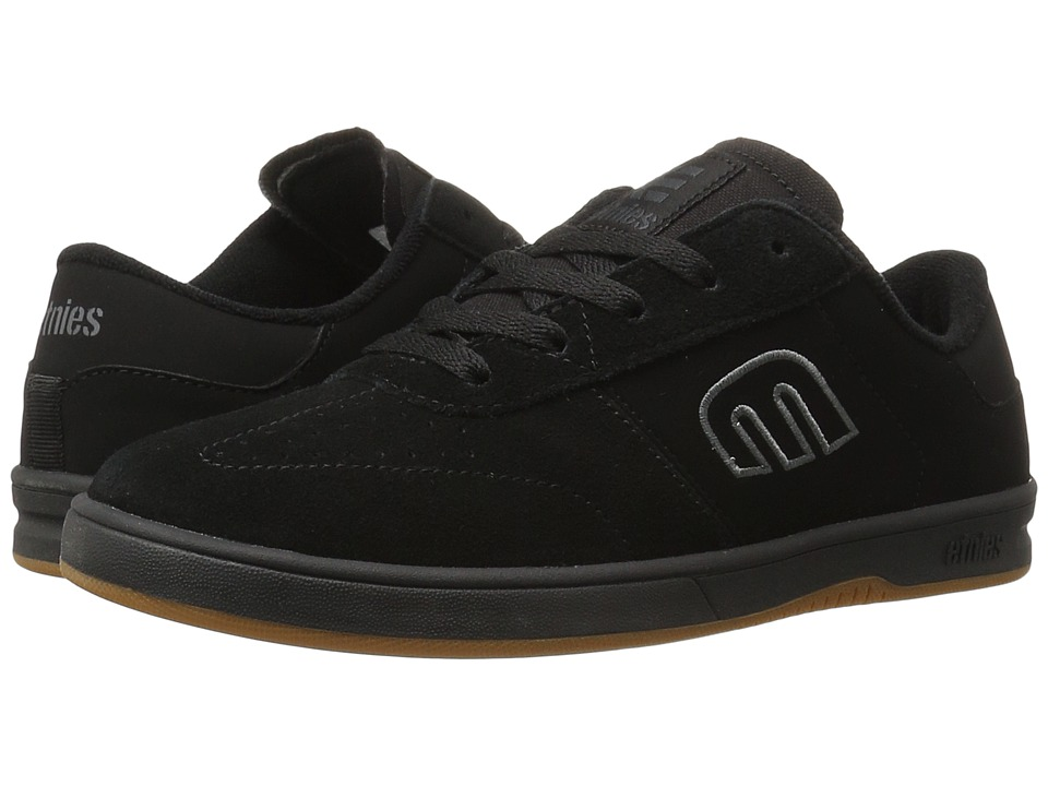 etnies Lo-Cut (Black/Red/Gum) Men
