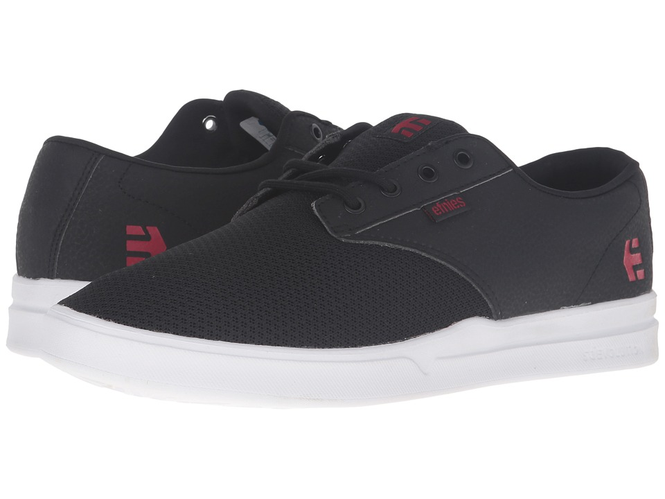 etnies Jameson SC (Black/White/Red) Men