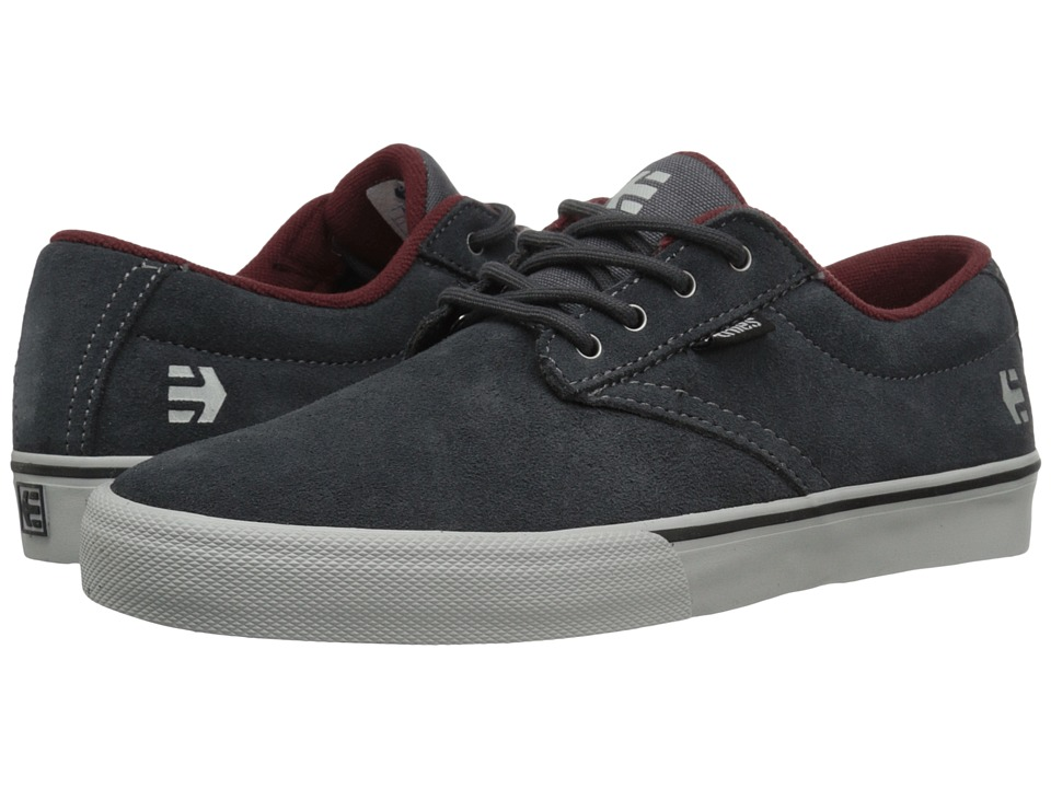 etnies Jameson Vulc (Dark Grey/Grey/Red) Men