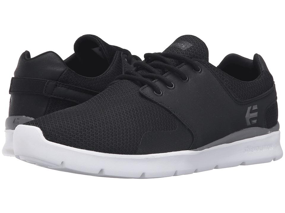 etnies - Scout XT (Black/White/Grey) Men's Skate Shoes