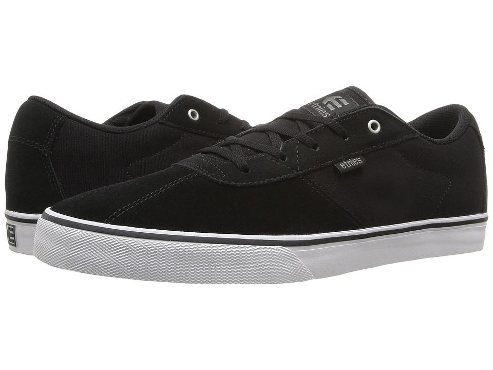 Etnies Scam Vulc (Black/White/Gum) Men's Skate Shoes
