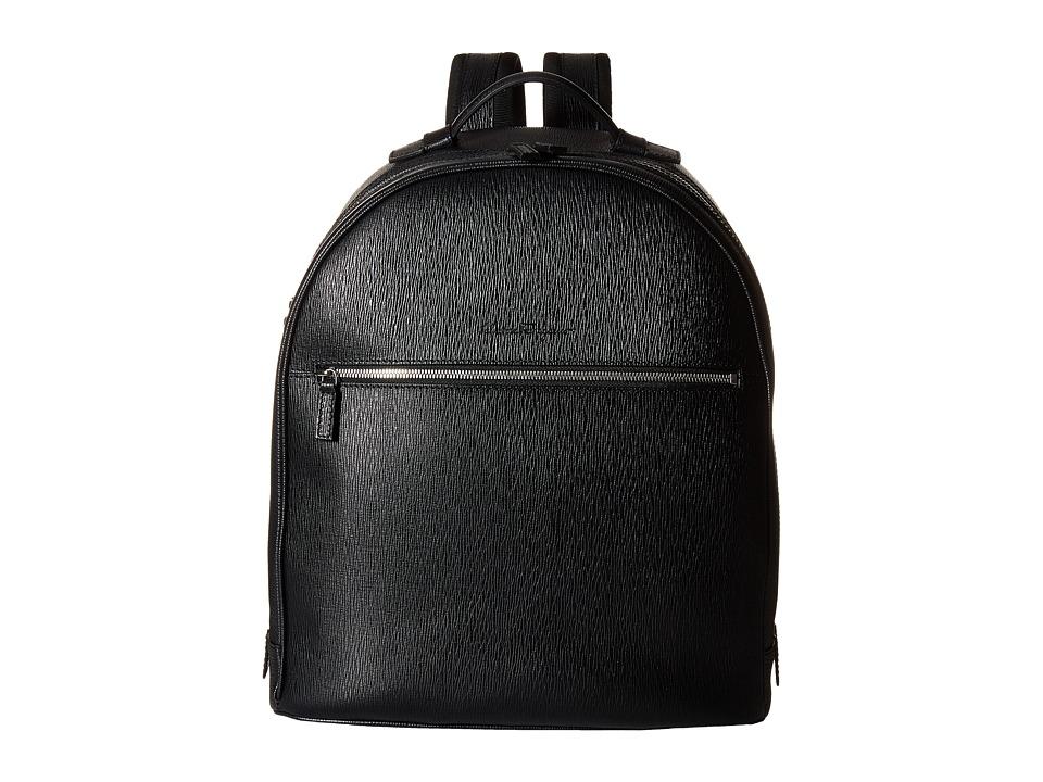 Salvatore Ferragamo - New Revival Backpack - 249587 (Black) Backpack Bags