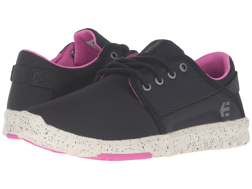 etnies - Scout W (Black/Black/Pink) Womens Skate Shoes