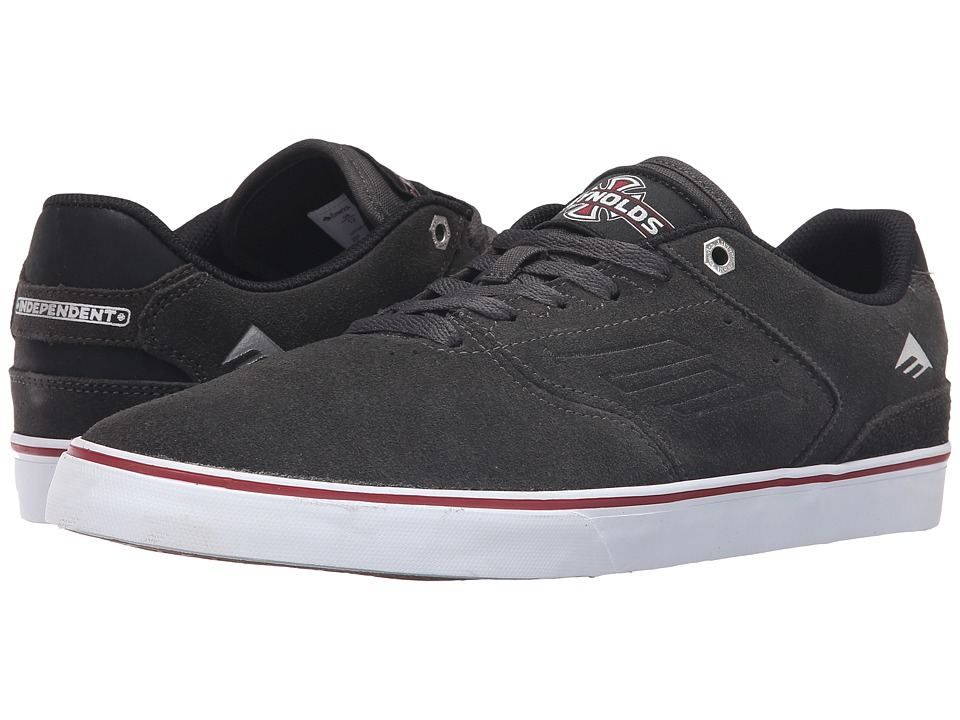 Emerica - The Reynolds Low Vulc X Indy (Dark Grey) Men