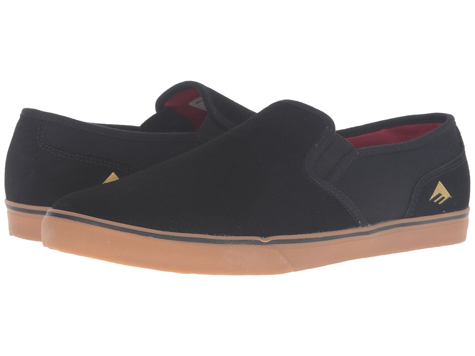Emerica Provost Cruiser Slip (Black/Gum) Men